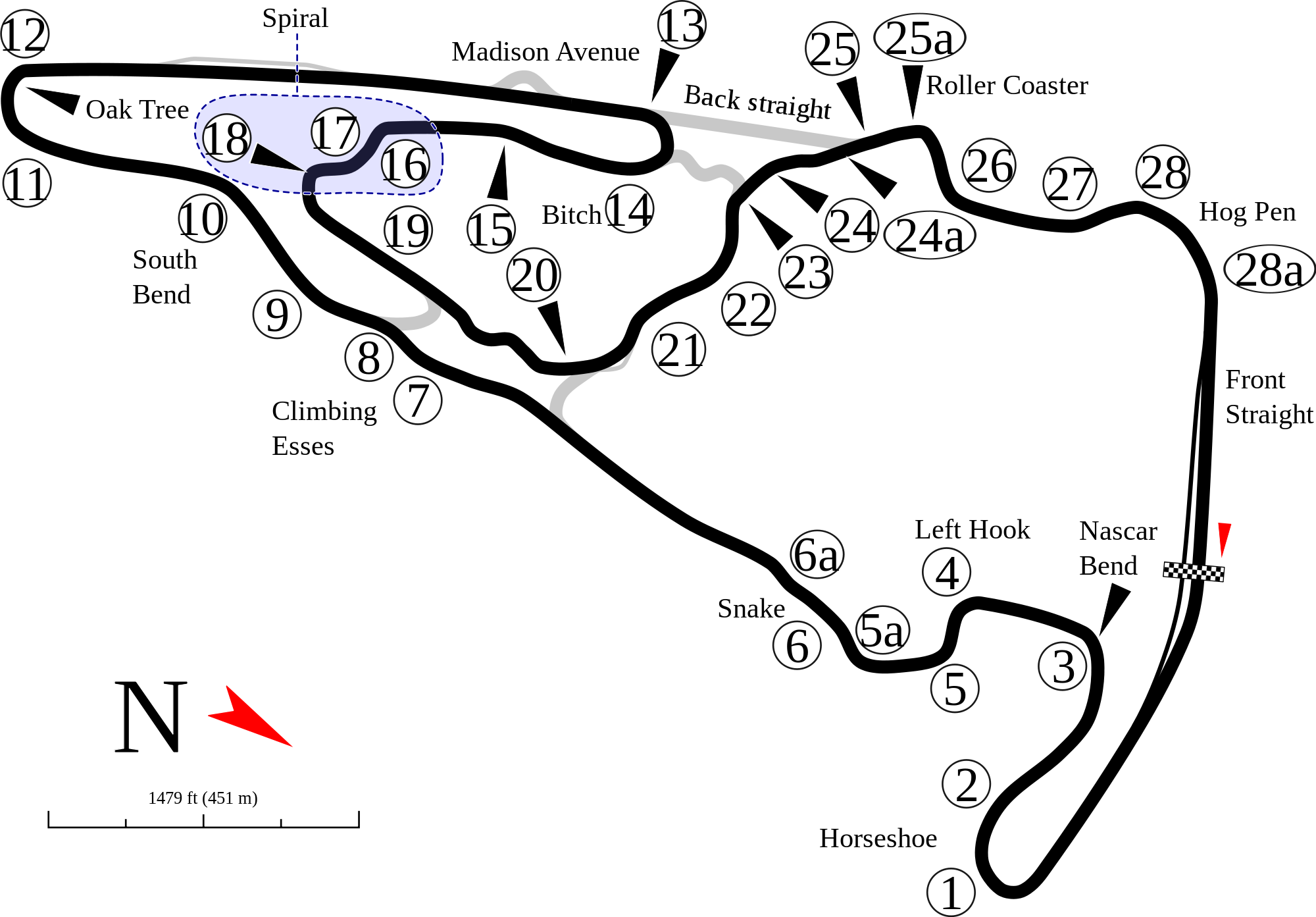 my #nearesttrack is Virginia International Raceway. Well technically on