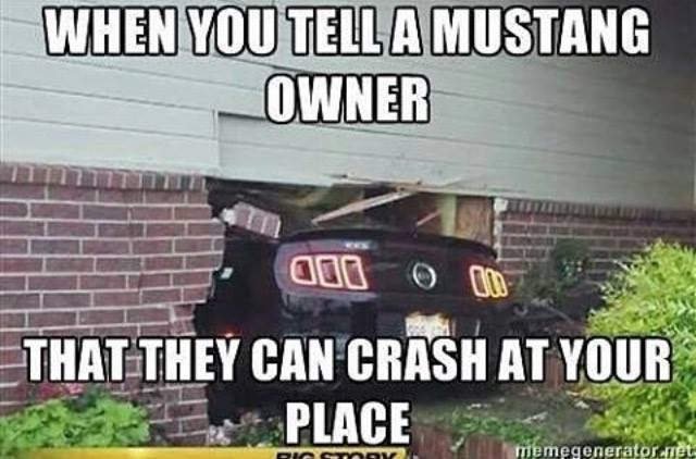 Best Mustang Meme