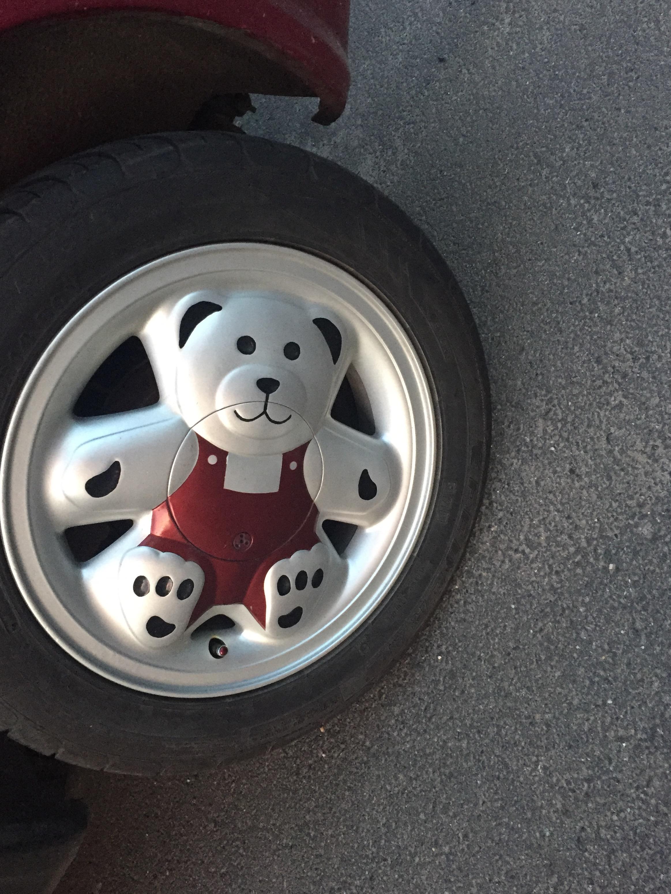 97 Felgenwerks Usa Felgenwerks Retro Bear V2 15x8 Teddybear