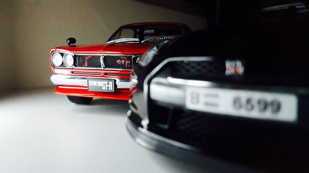 Dad And Son Chilling My 1 18 Diecast Car Photography Jdm