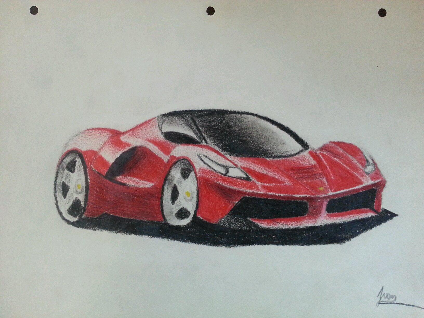 ferrari la ferrari draw. Cars Review. Best American Auto & Cars Review