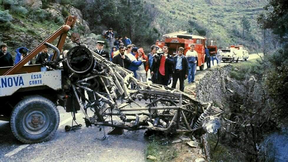 The Remains Of Henri Toivonen S Lancia S4