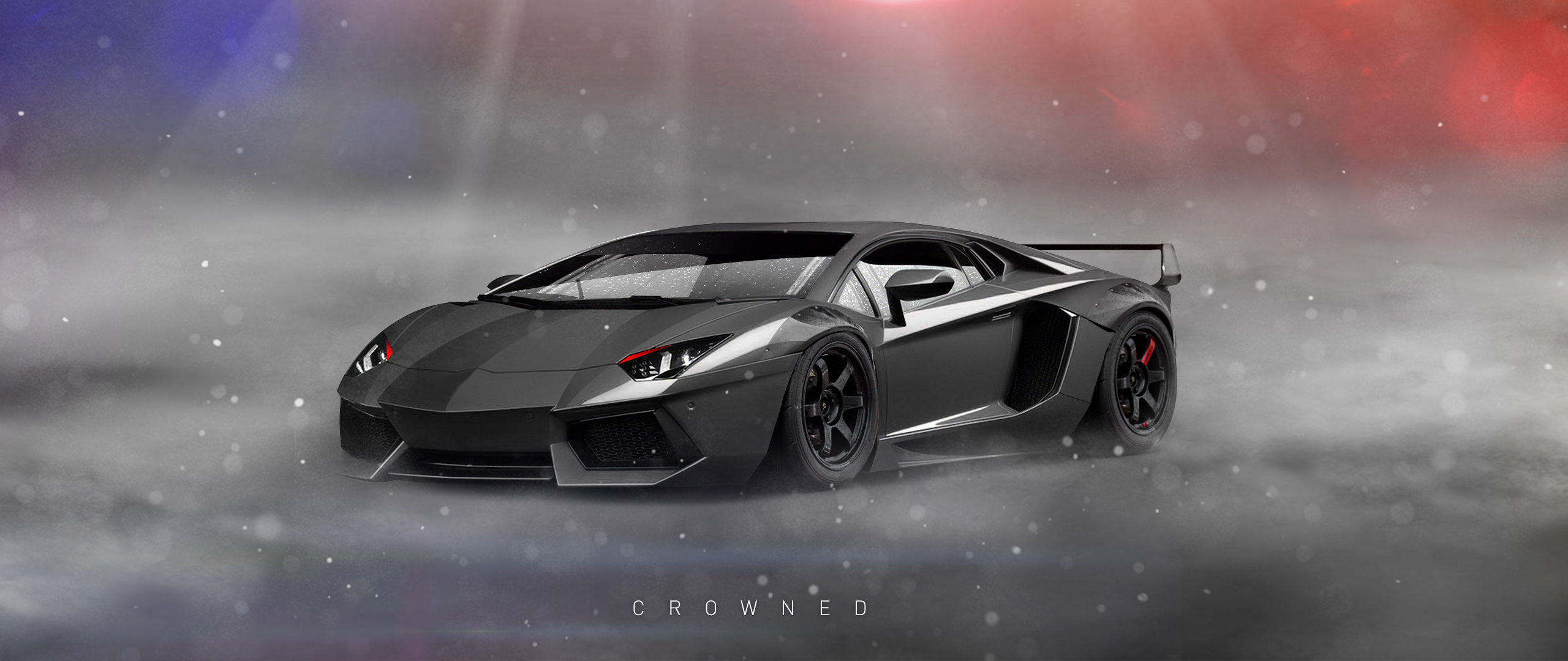Lamborghini Aventador Photoshop Time Lapse