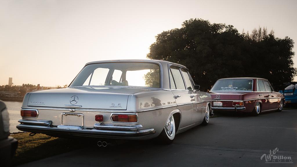Bagged Mercedes 280SE #CTVariety
