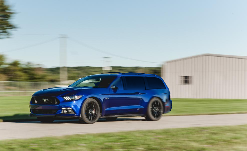 Mustang Sport Wagon >> Image Of The 2017 Mustang Sportwagon Leaked