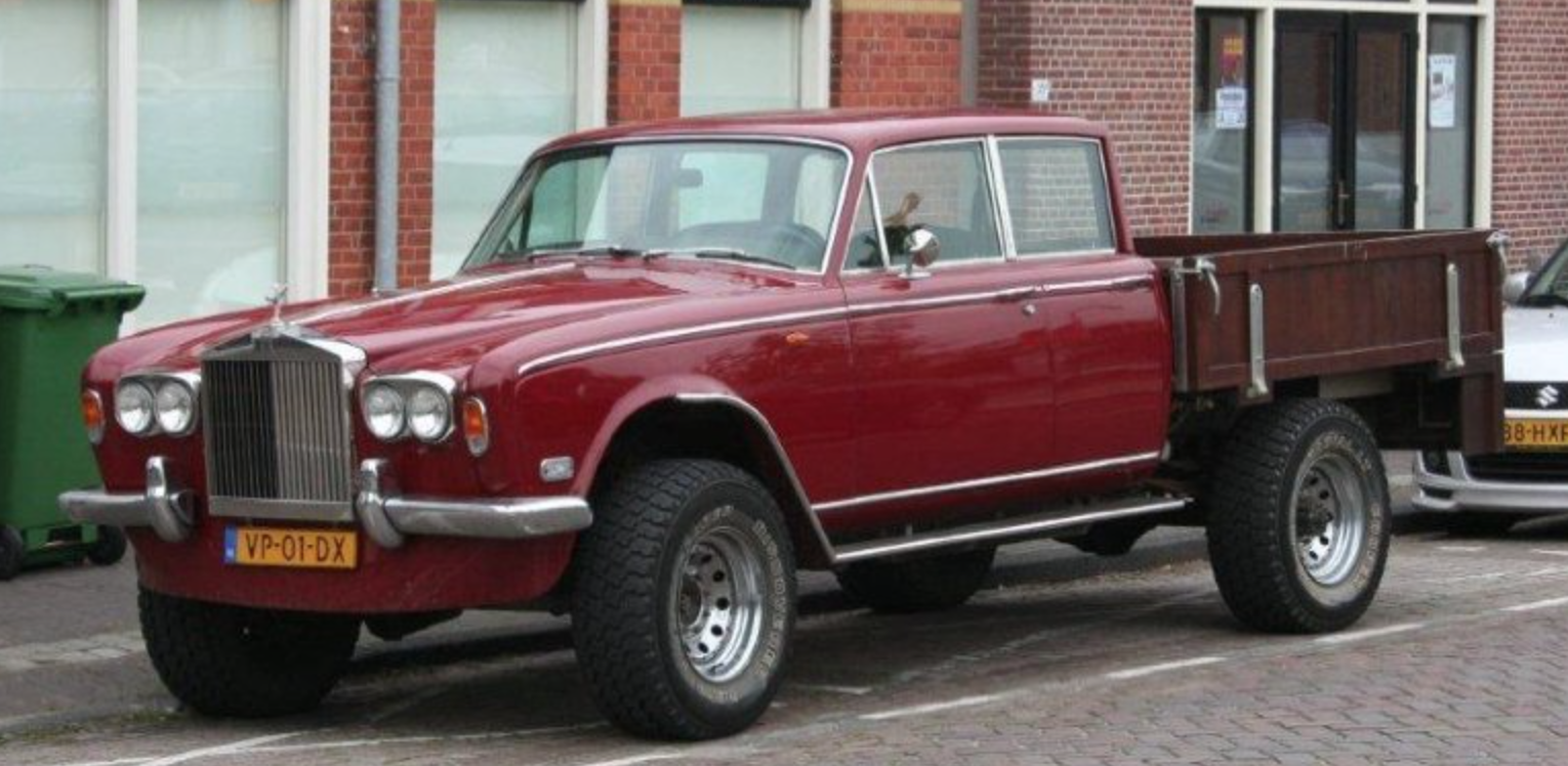 The Story of a Wild Russian Rolls-Royce Pickup.