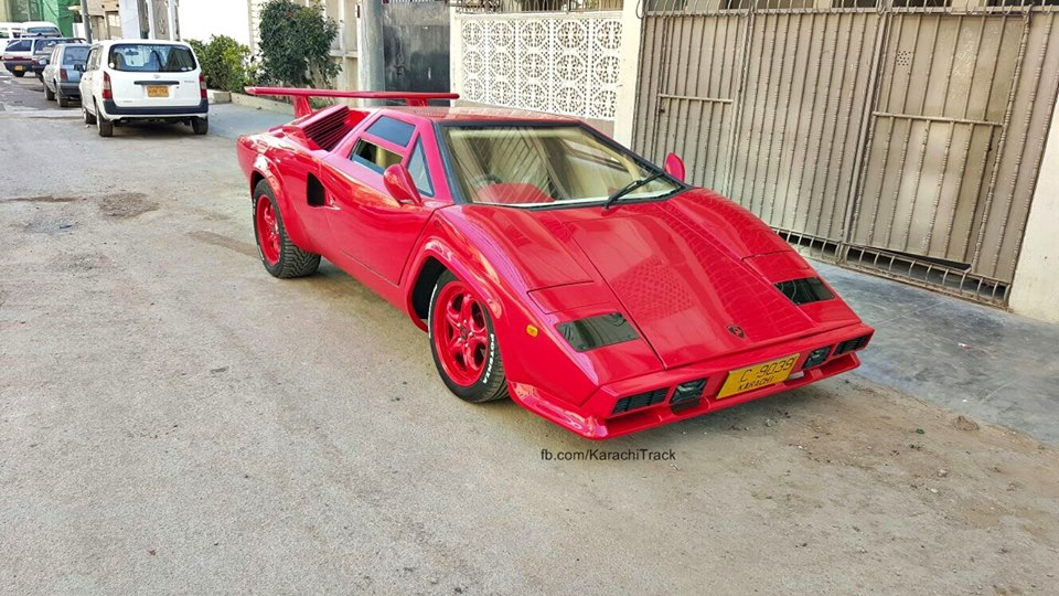 Here S What I Learned From This Lamborghini Countach Replica