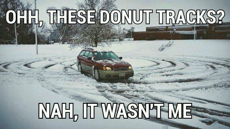 I'm a little late to meme my Subaru