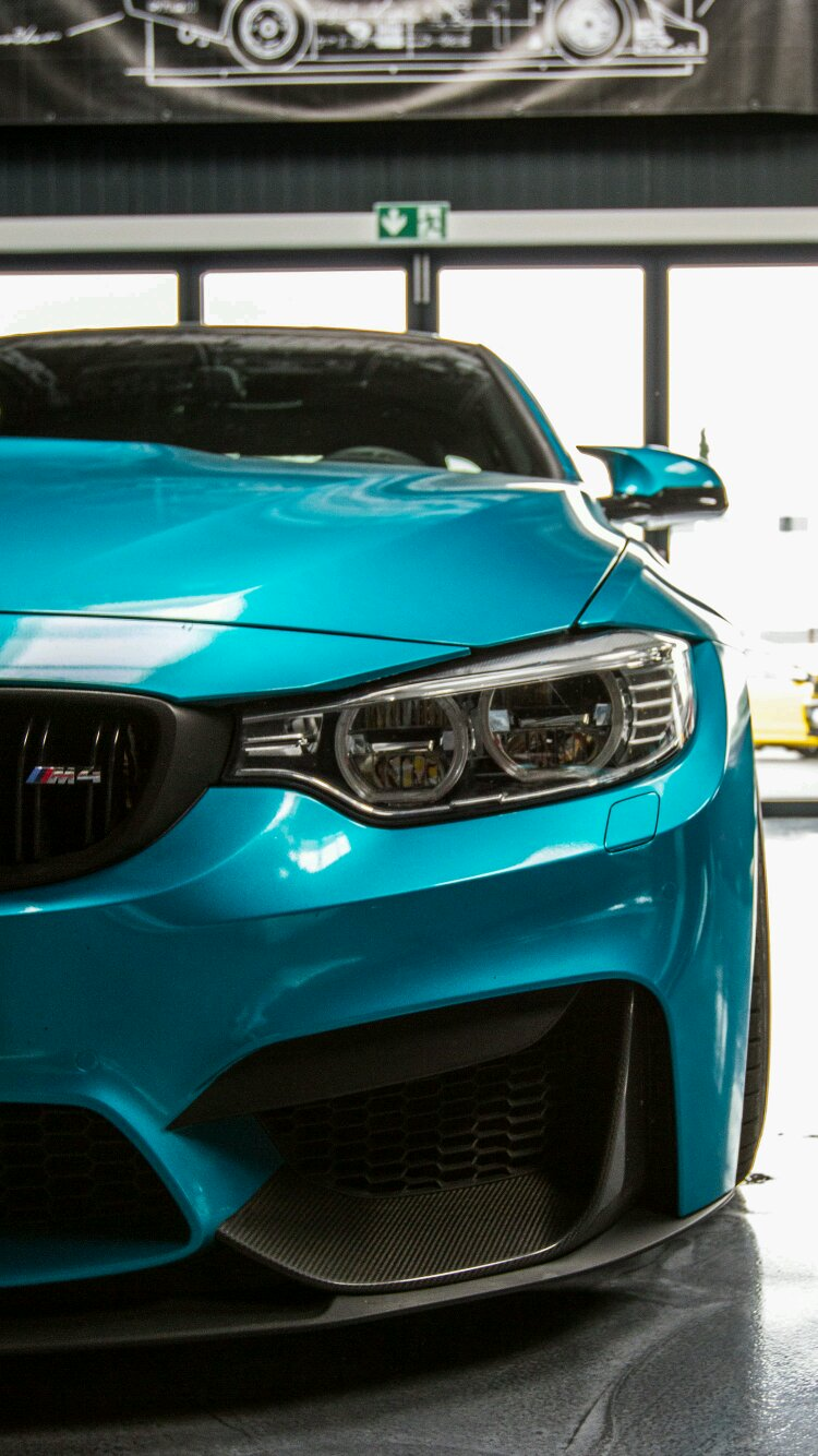 Teal Blue M4 Phone Wallpaper Anyone I Got You Car Is From