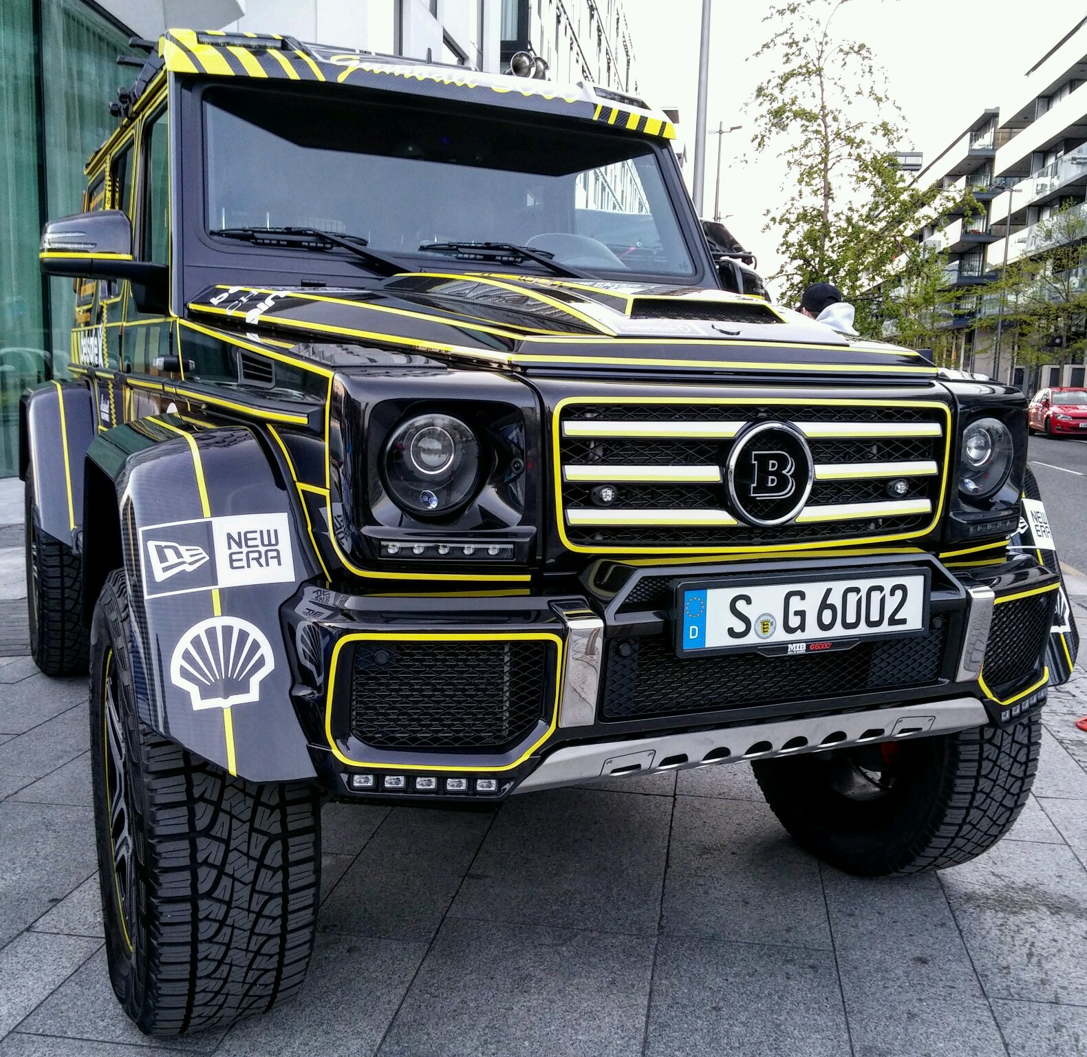 Brabus 4x4 Squared Is A Beast