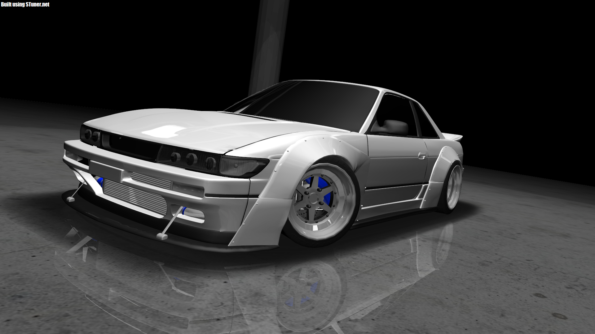 Nissan Silvia S13 made in S-Tuner (Not 3DTuning com)