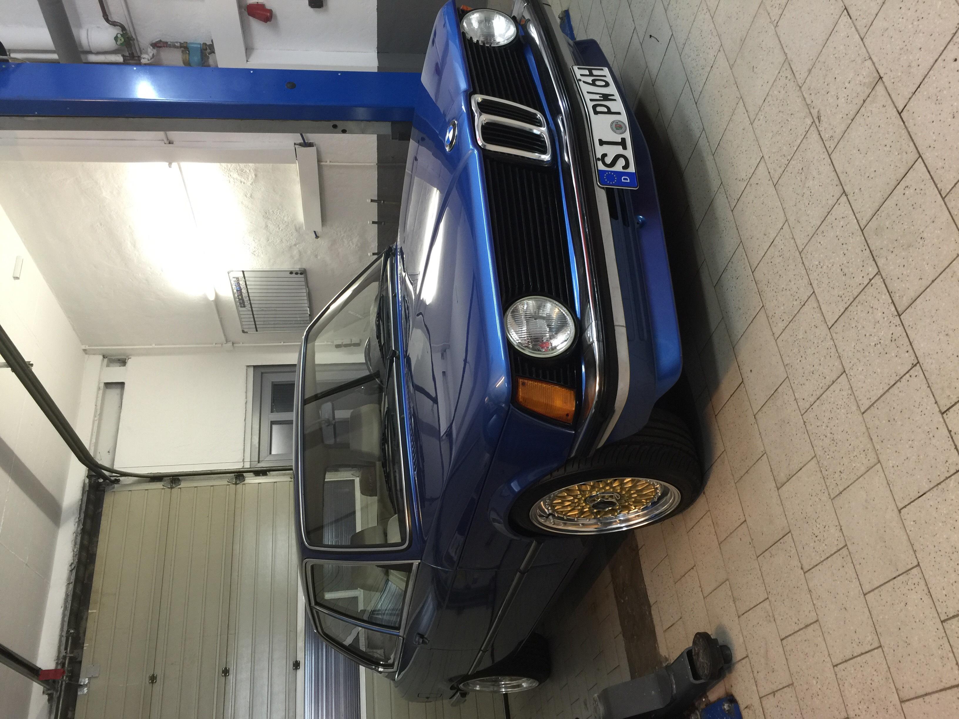 1975 bmw e21 320 4 for Garage bmw 77