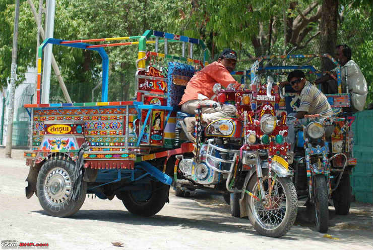 9 Weird Vehicles From India. #BlogPost
