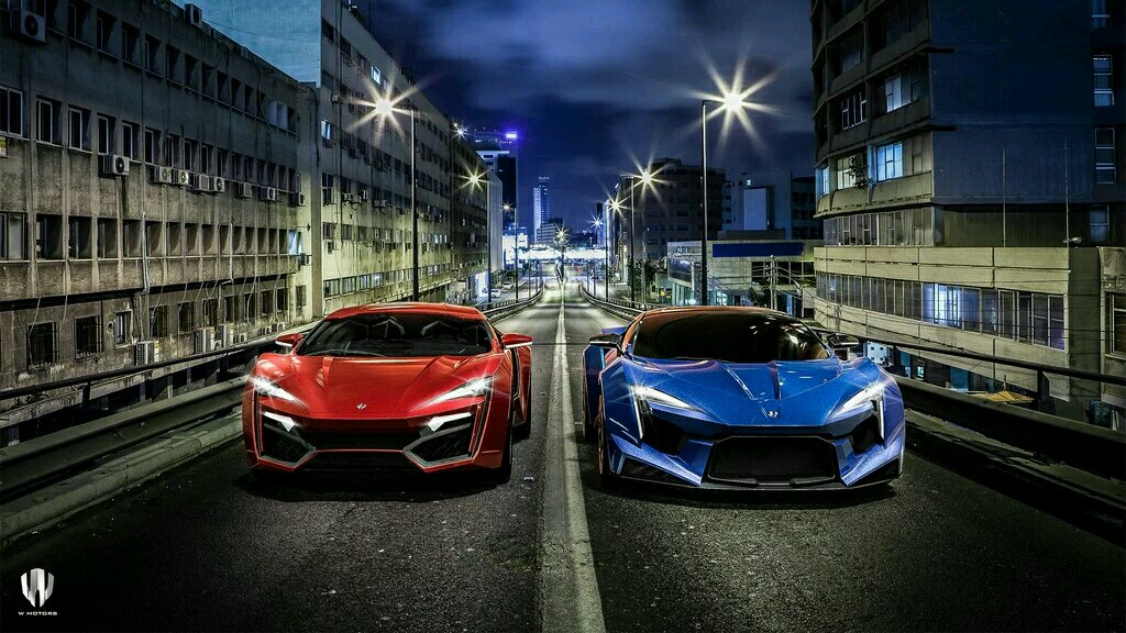 Lykan Hypersport Vs Fenyr Supersport