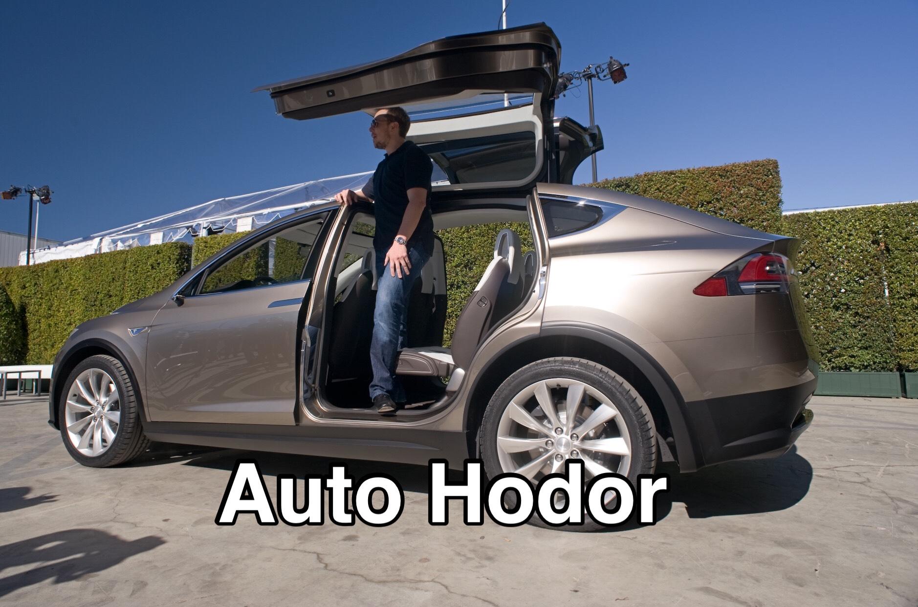 Tesla Model X - фото, цена, характеристики кроссовера ...