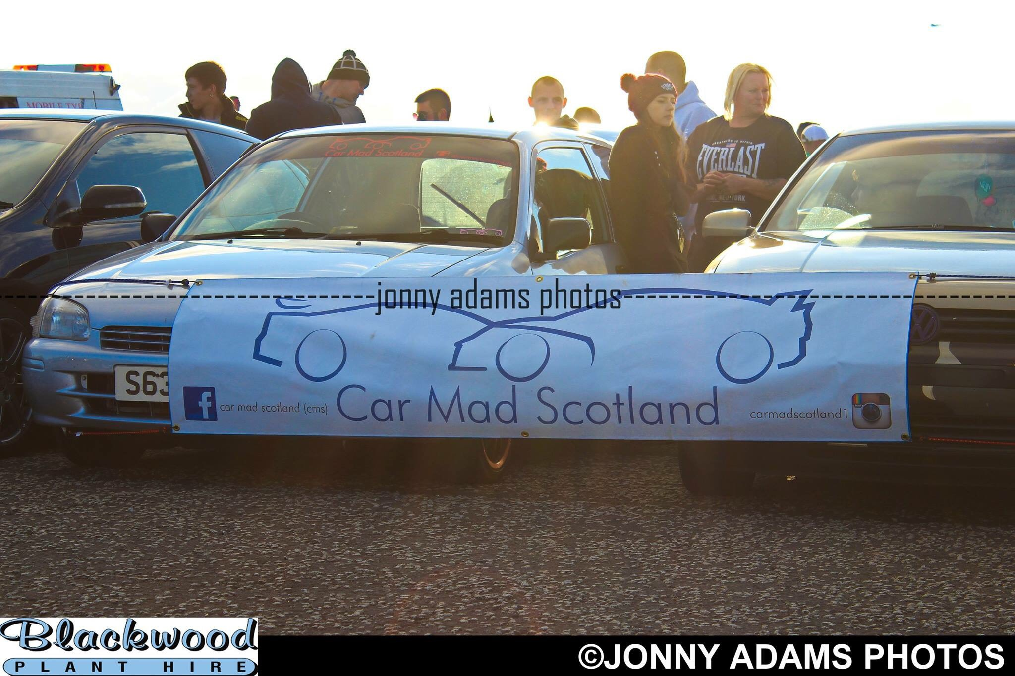 Little Scarlet Became A Banner Car At Irvine Cruise P S Follow My Car Clubs Twitter For More Photos And Other Cars And Meet To Do With The Club Carmadscotland2