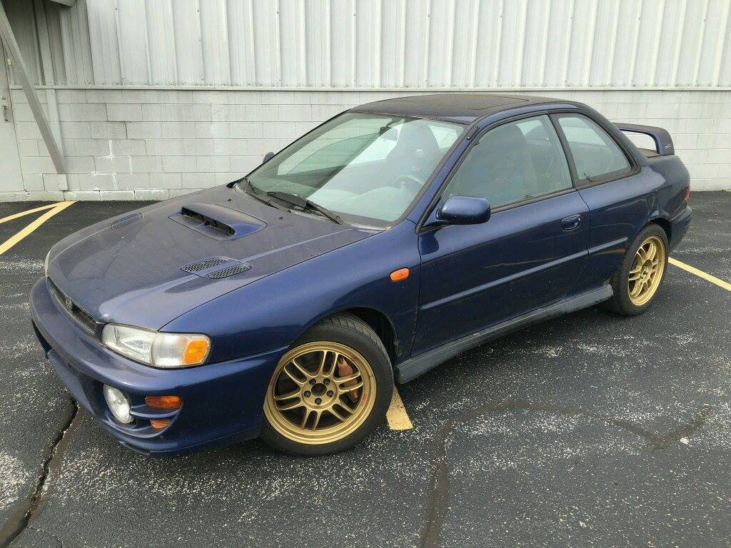2000 subaru impreza coupe