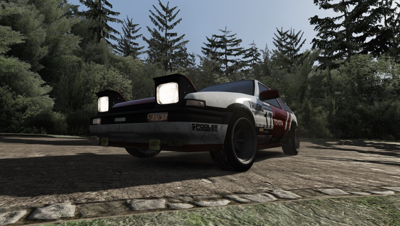 The Ae86 In Assetto Corsa S Japanese Pack Makes A Rally Fun Car