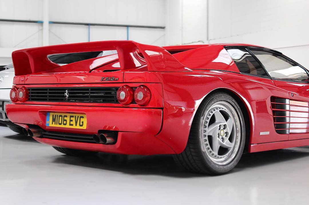Ferrari F512M with a distinctive rear spoiler! Have you seen one ...