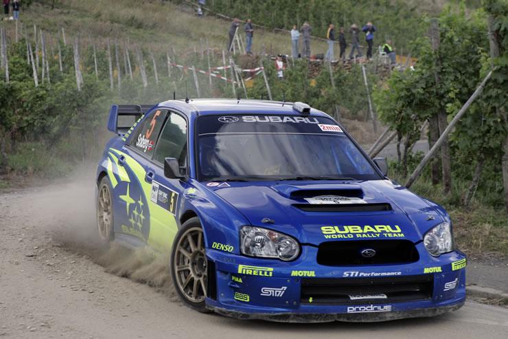 Heritage Volkswagen Subaru >> What's your opinion of Impreza road cars wearing 555 ...