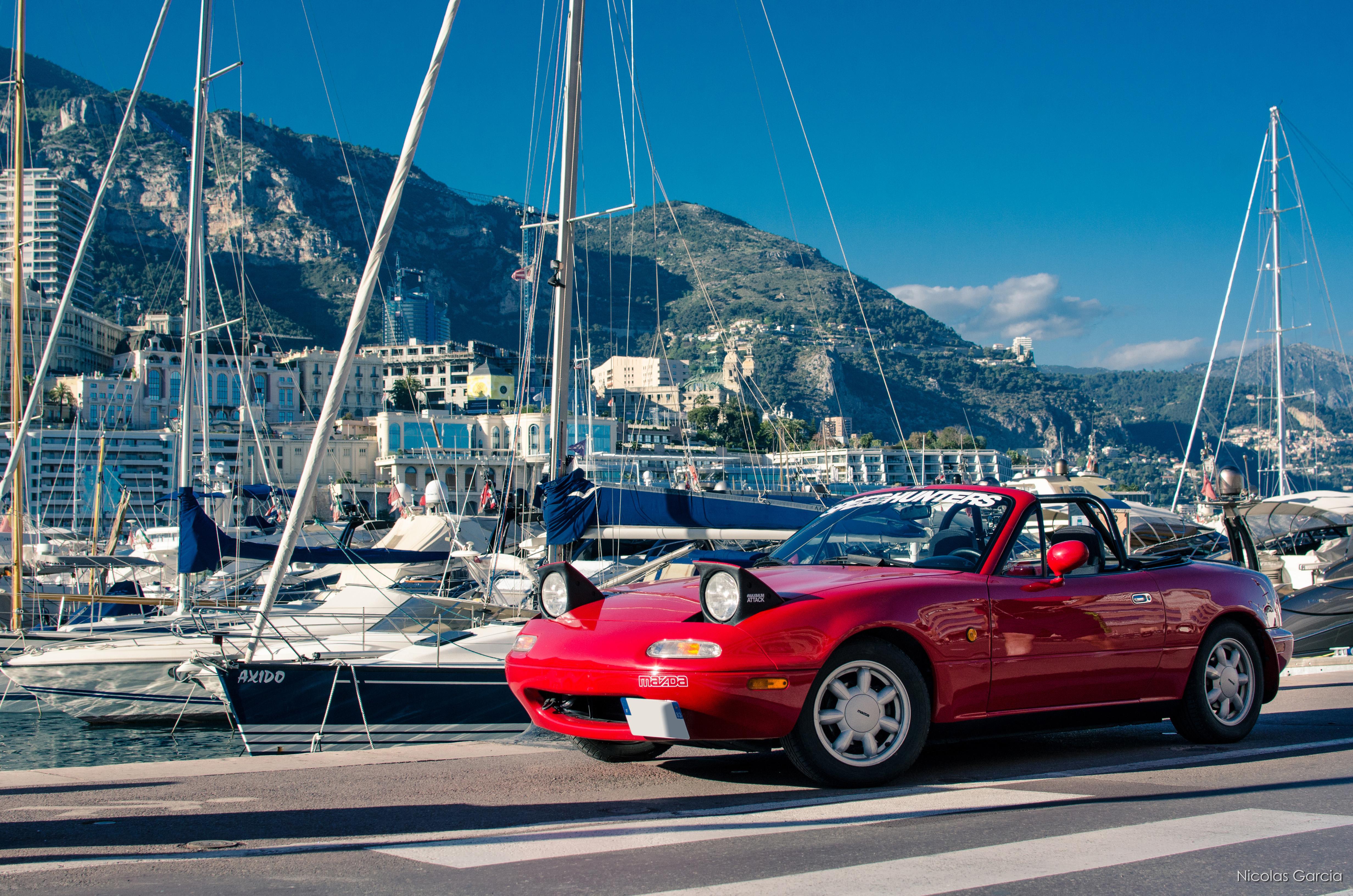 My Miata NA in Monaco