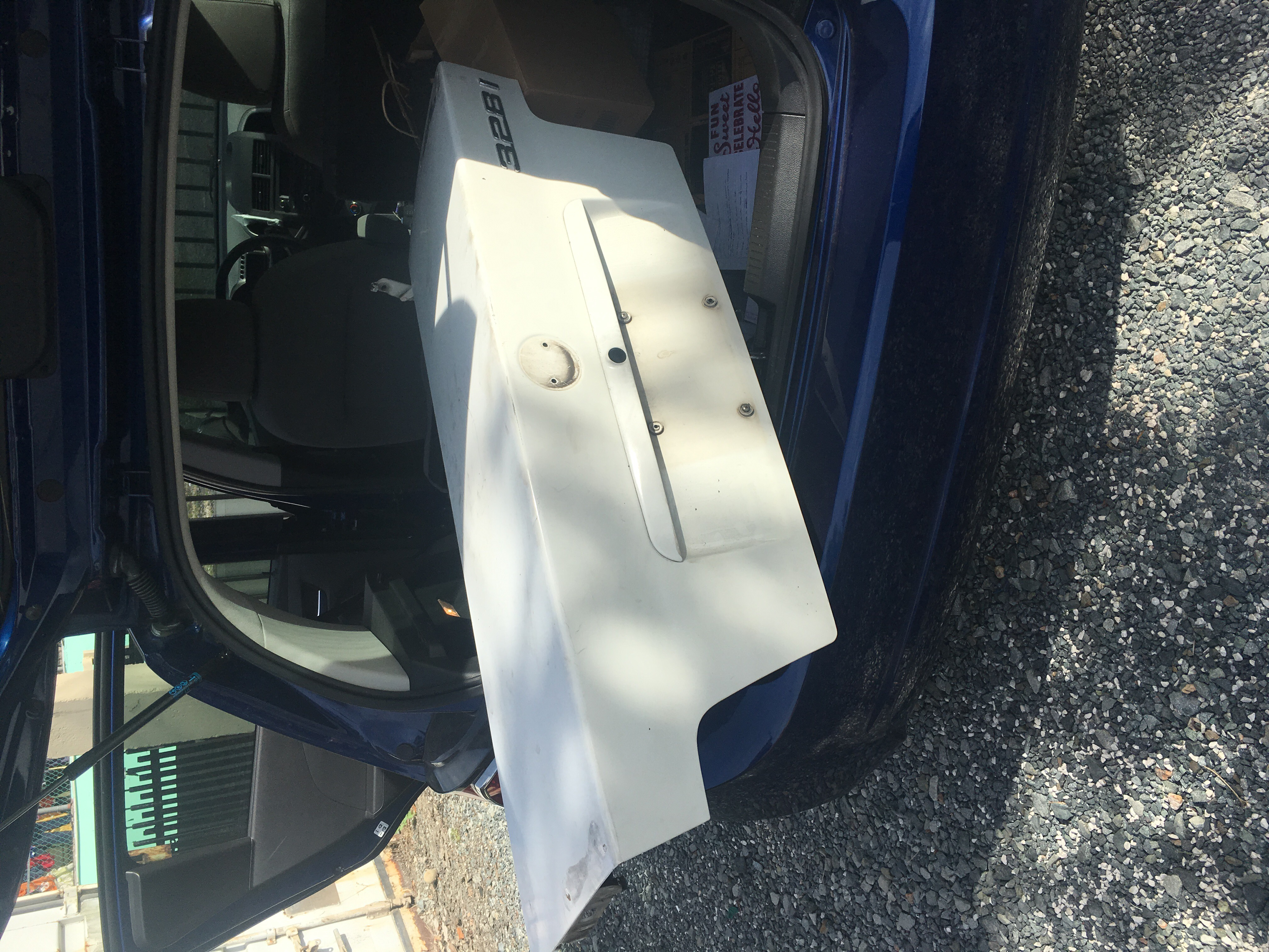 New rust free trunk lid for my E36
