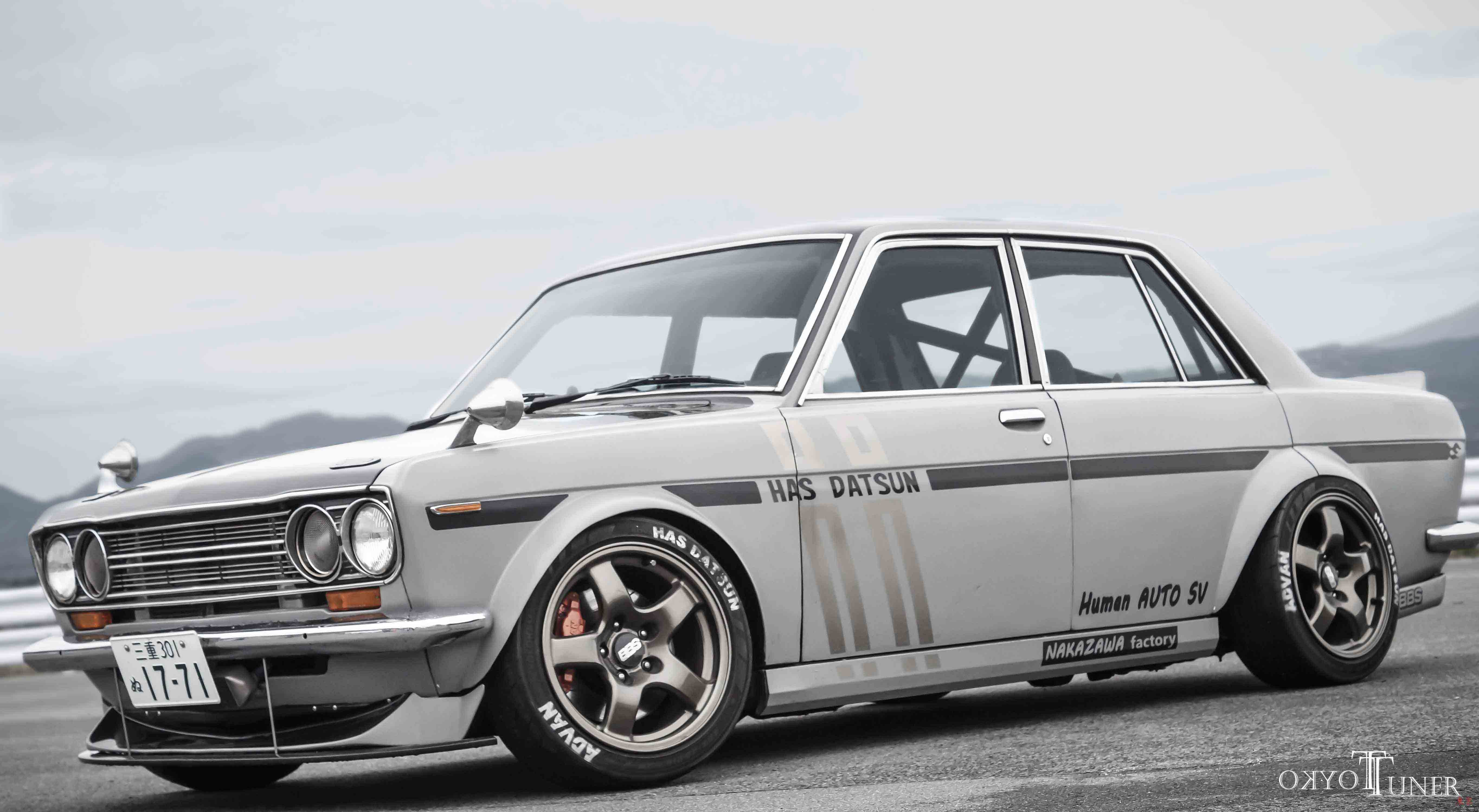 Who else would race this awesome Datsun 510?