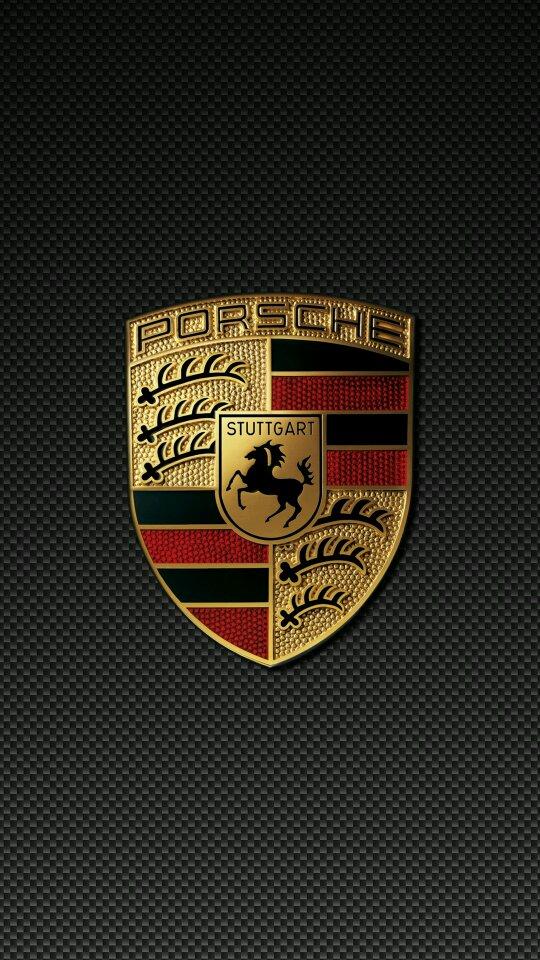 Photo Collection Porsche Logo Carbon Fiber Wallpaper