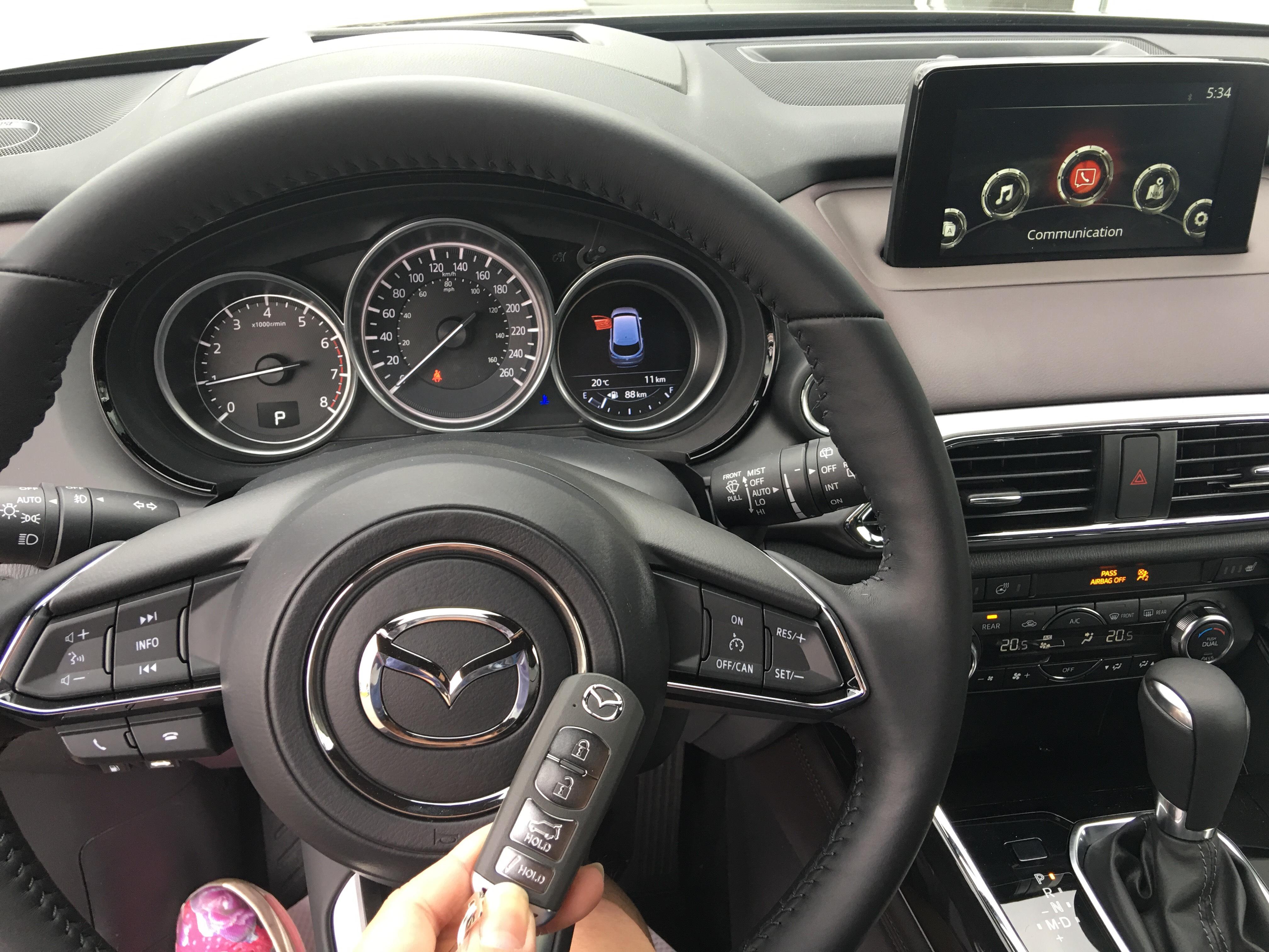 The New Mazda Cx 9