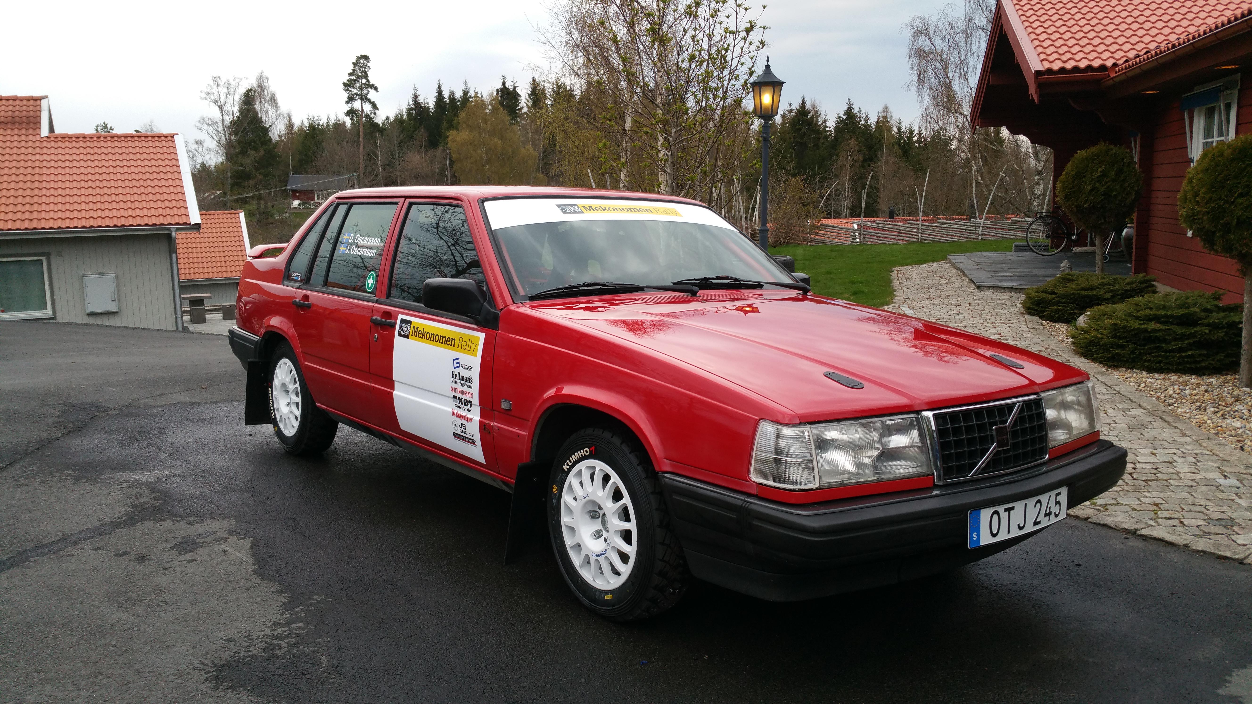 1991 Volvo 940 Rallycar