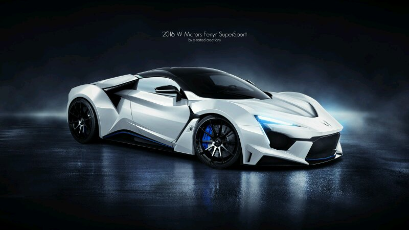 W Motors Fenyr >> W Motors Fenyr Supersport