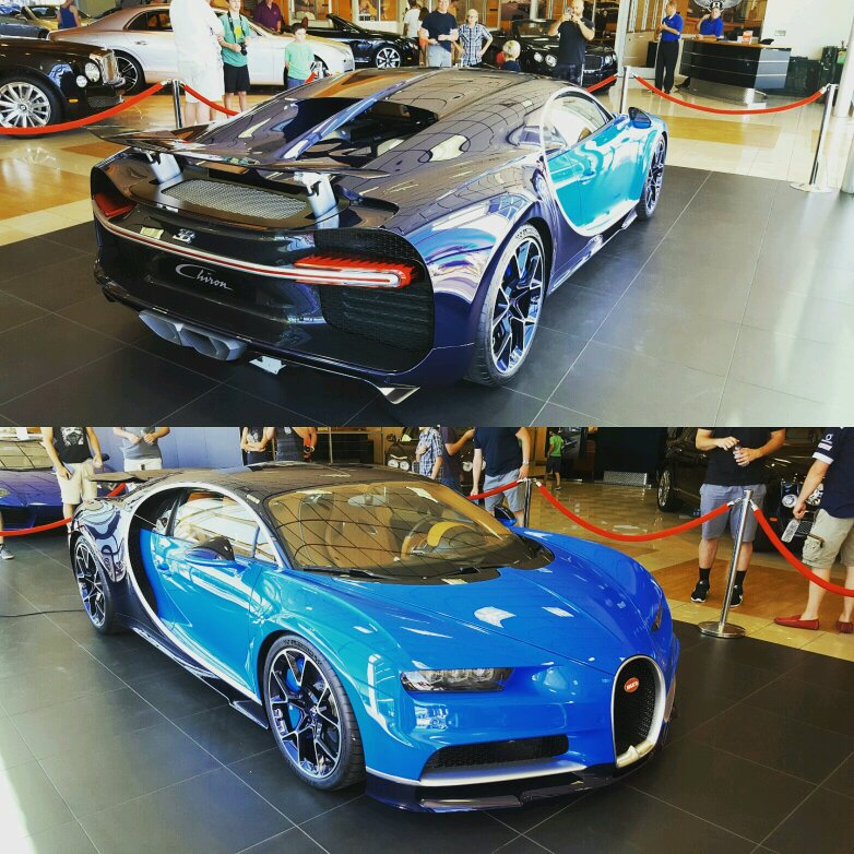 Spotted A Bugatti Chiron In Scottsdale Arizona This