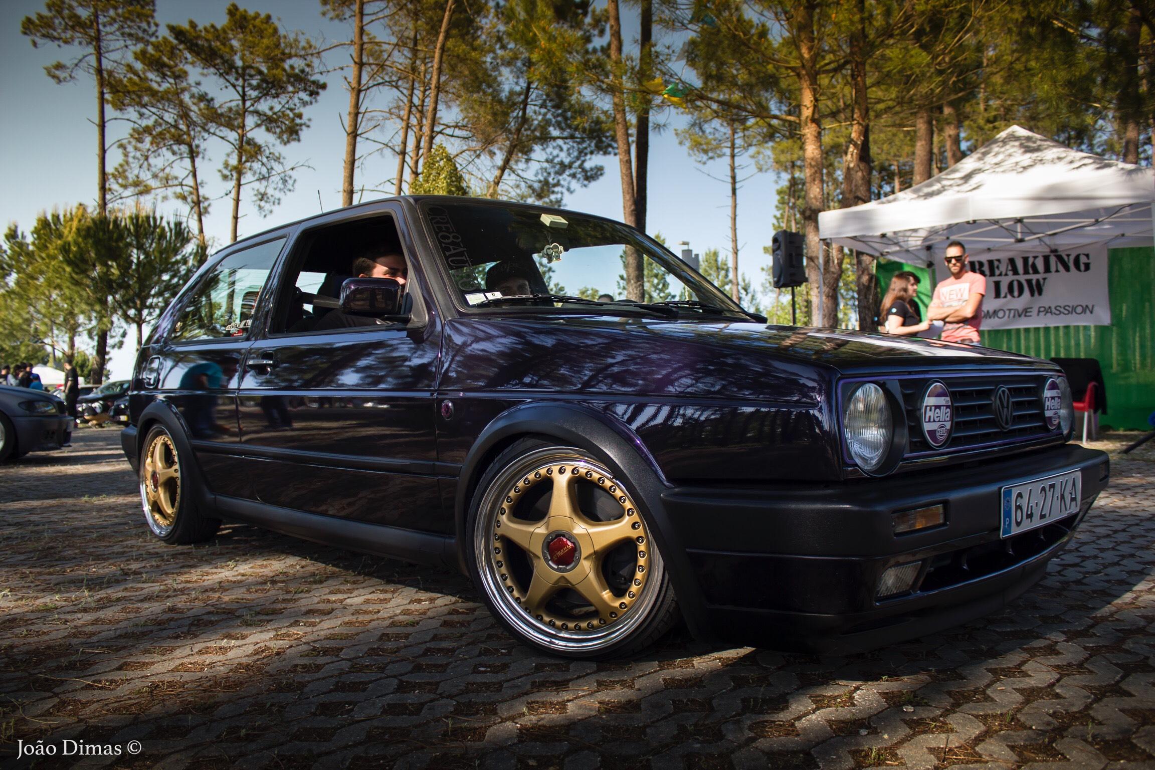 Niewiarygodnie Golf MK2 with a rare set of OZ Fittipaldi AH67