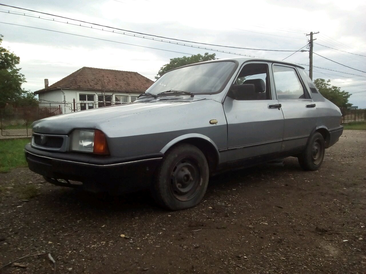 1996 Dacia With Side Exhaust Pipes Not Straight Pipe It Has That