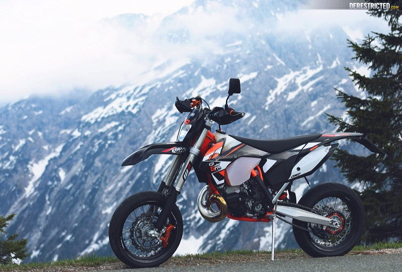 perfection ktm 250 exc supermoto. Black Bedroom Furniture Sets. Home Design Ideas