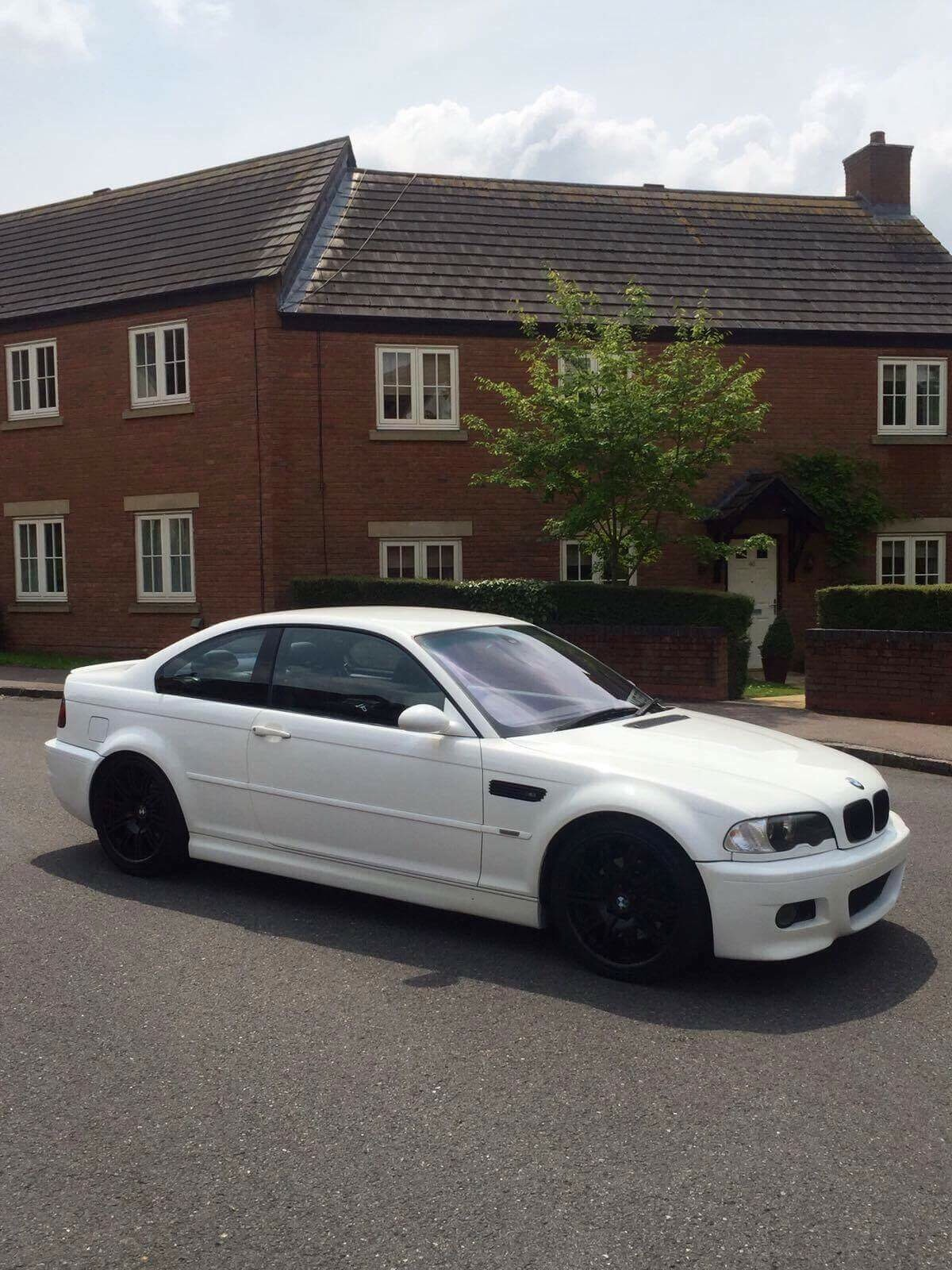 2001 Bmw E46 M3 Alpine White