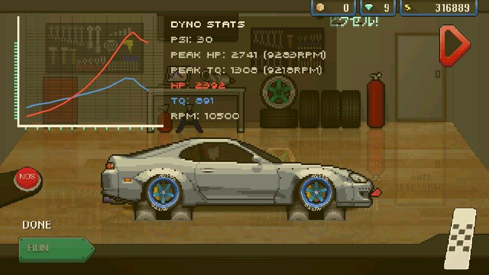 Скачать Игру Pixel Car Racing - фото 10