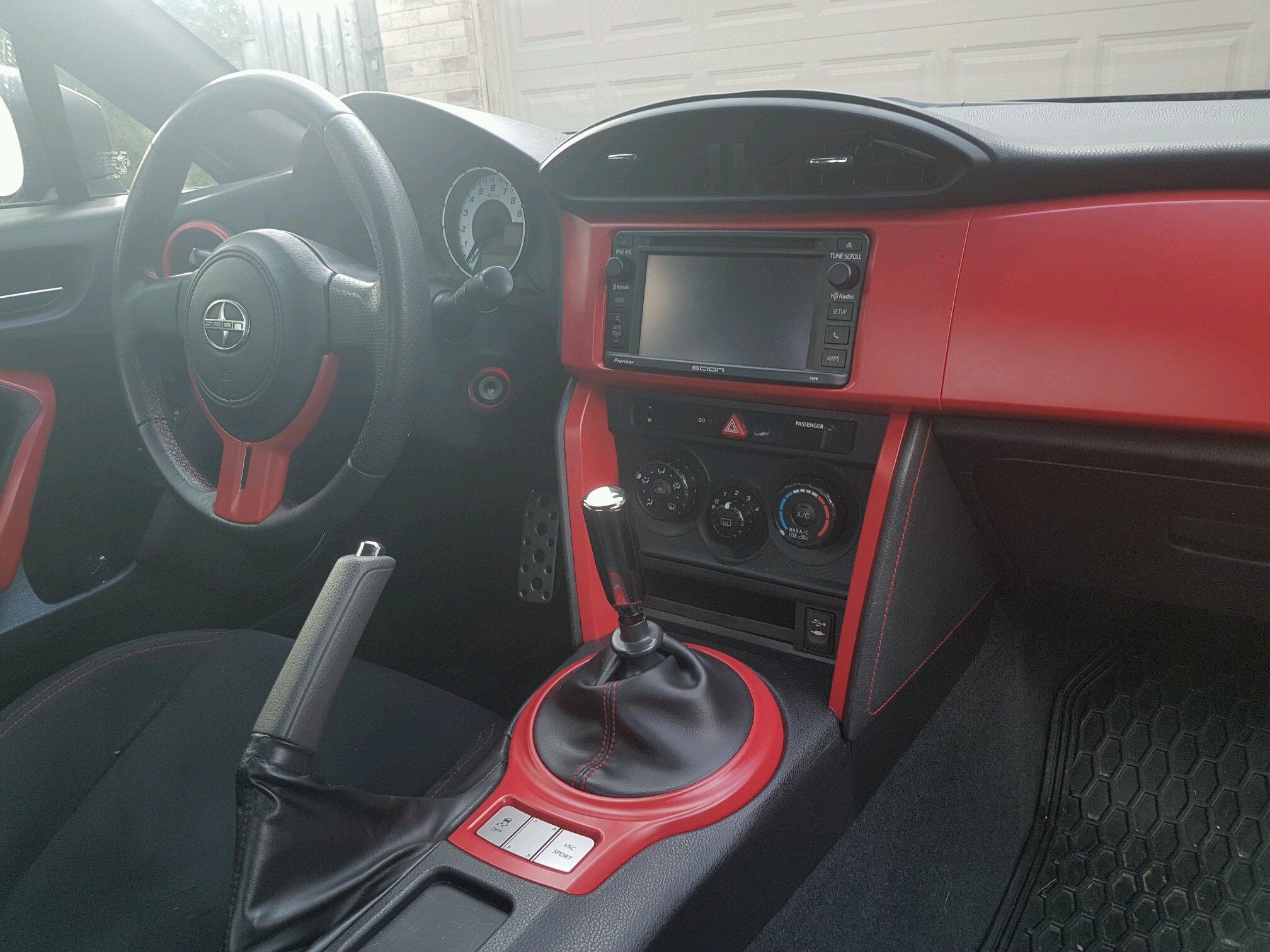 Frs interior wrap for Vinyl wrapping interior trim