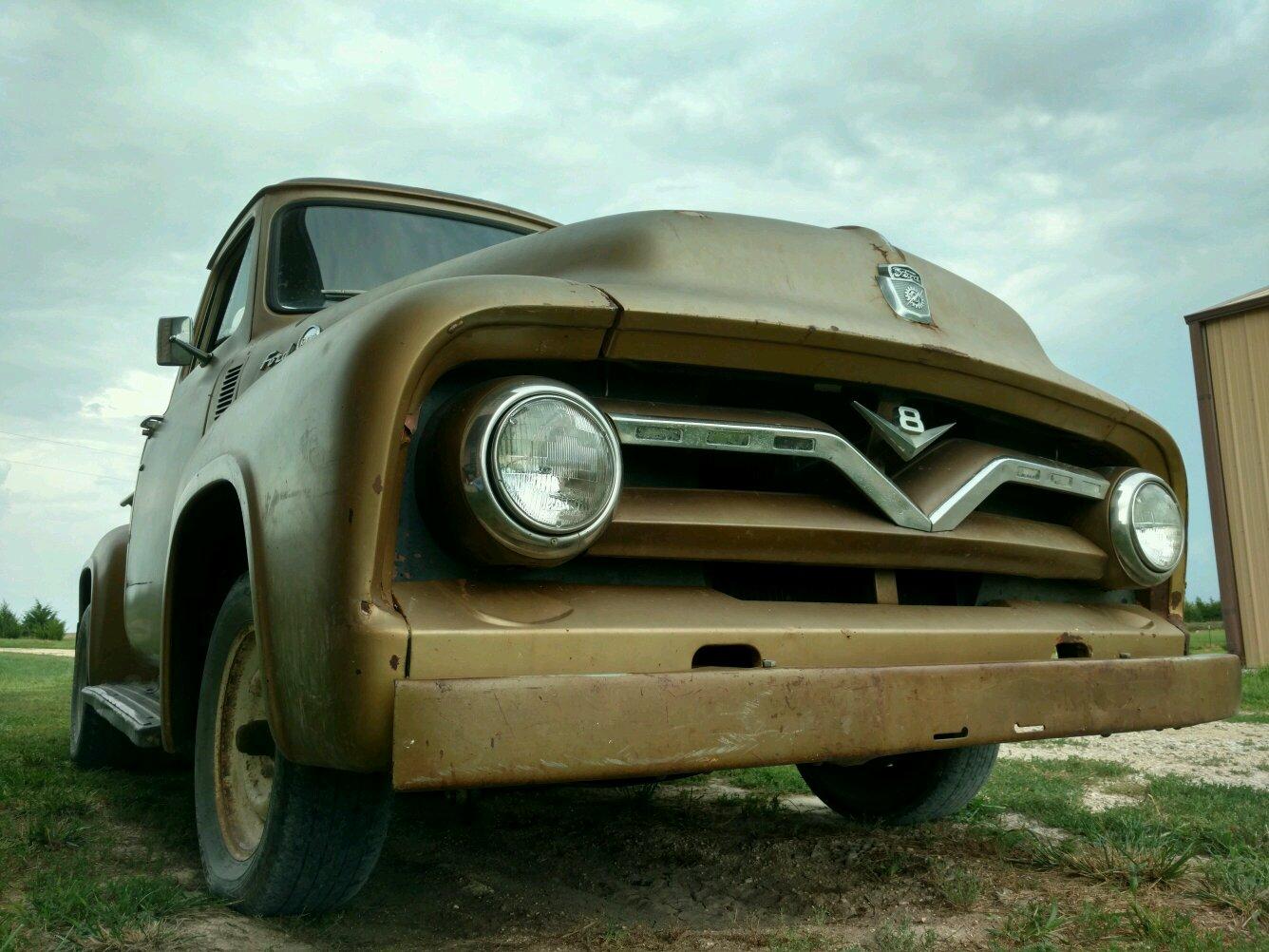 1955 Ford F100 Hood