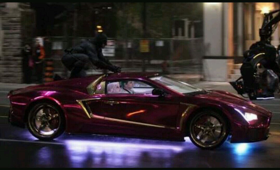 Joker S Purple Lamborghini Is Not A Lamborghini That S An
