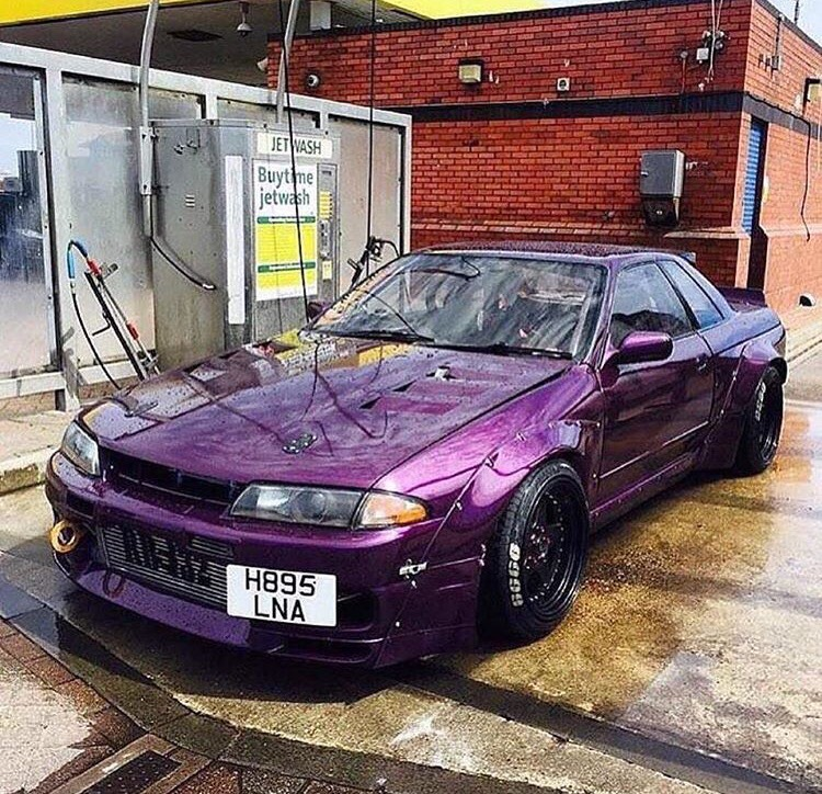 Widebody Purple R32 Skyline