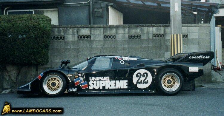 1986 Lamborghini Qountach QVX
