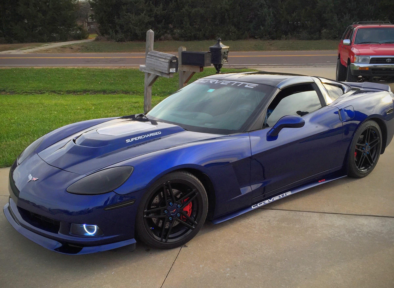 Custom supercharged corvette