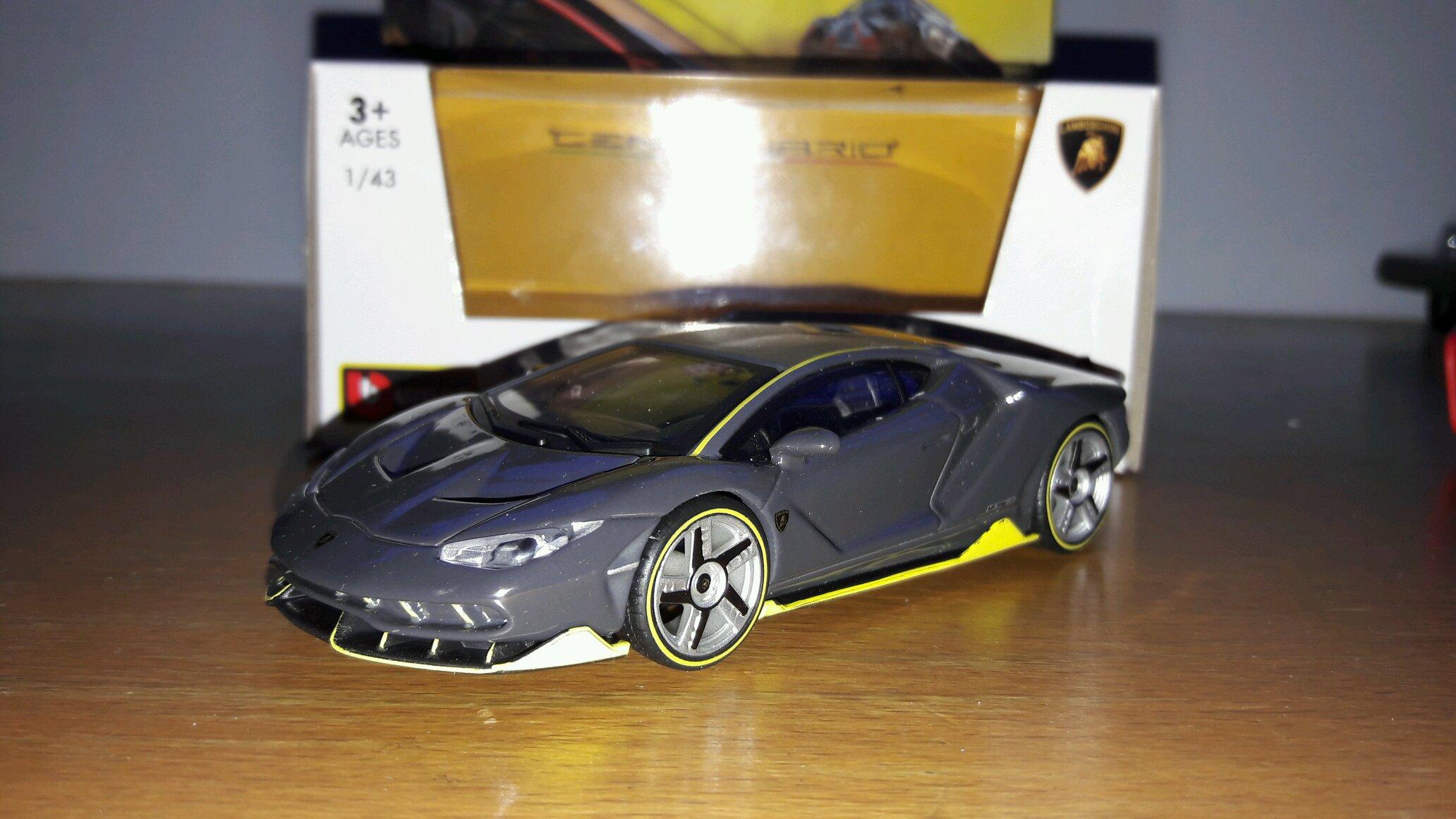 Lamborghini Centenario 1 43 Bburago