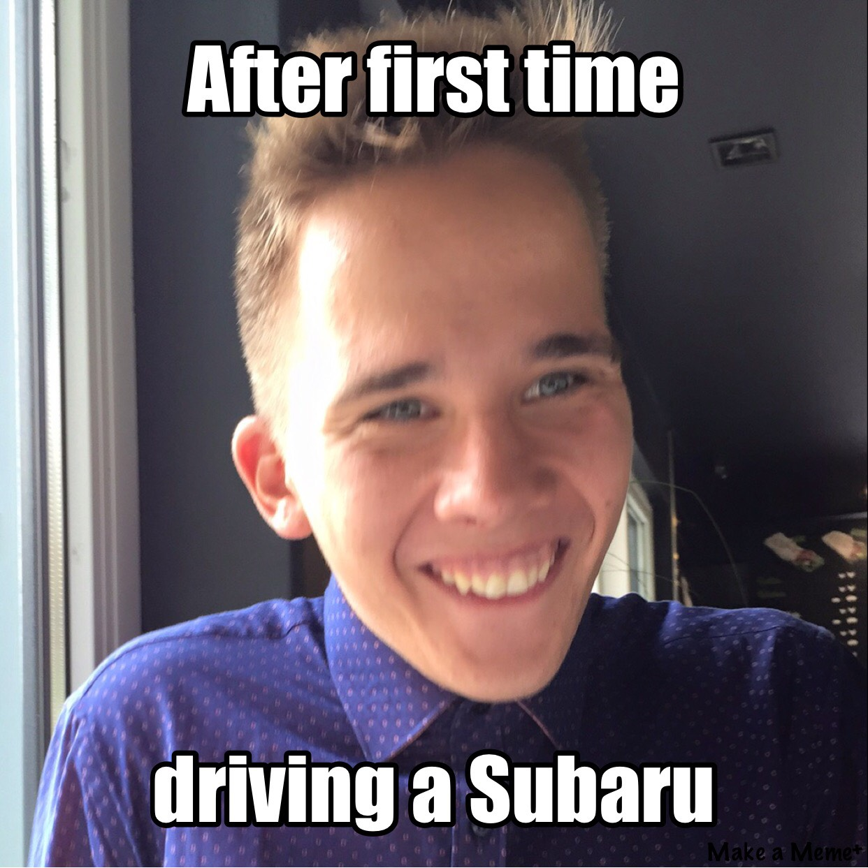 subaru owners meme