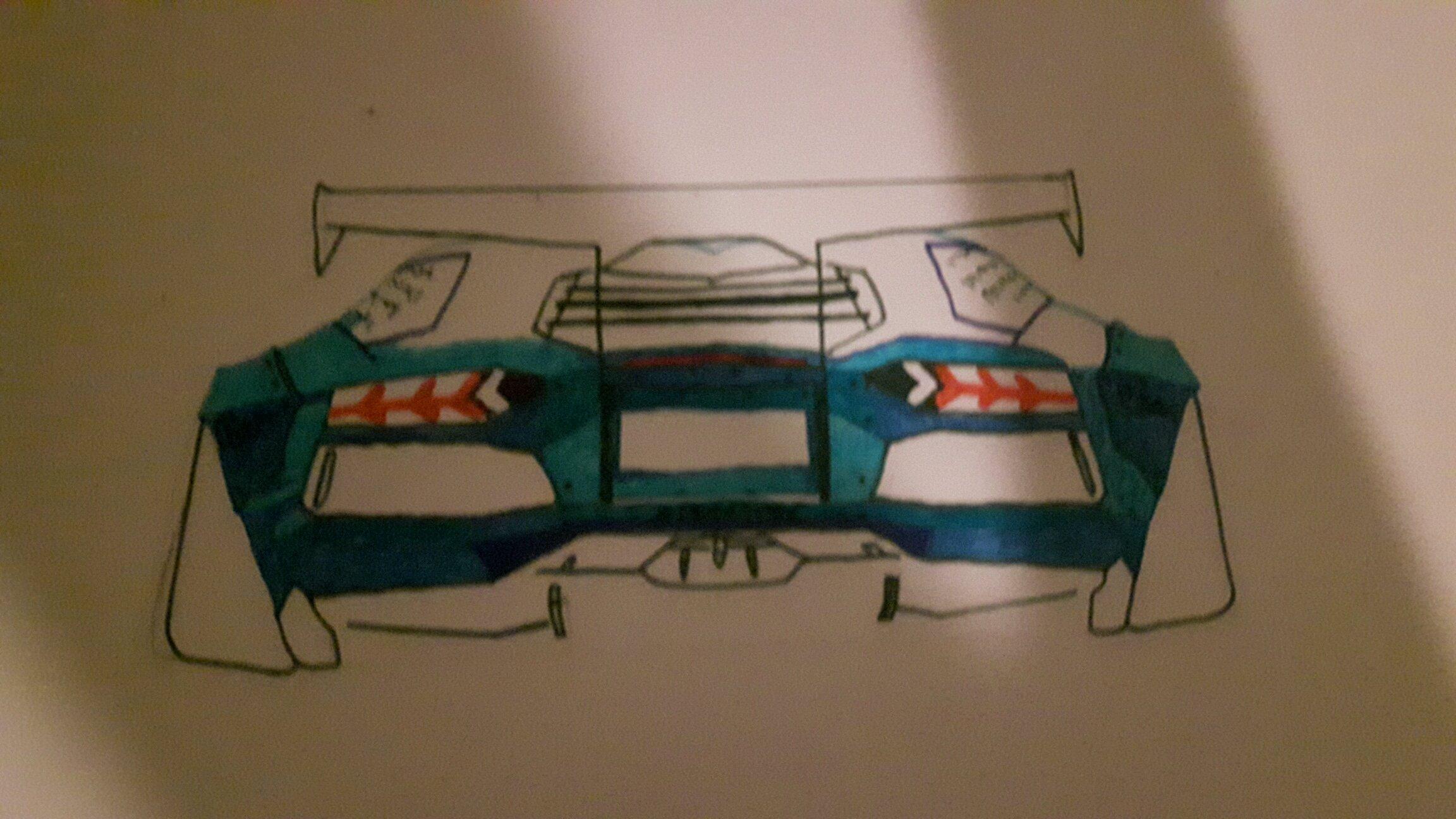 I Have Decided To Colour My Liberty Walk Aventador Blue