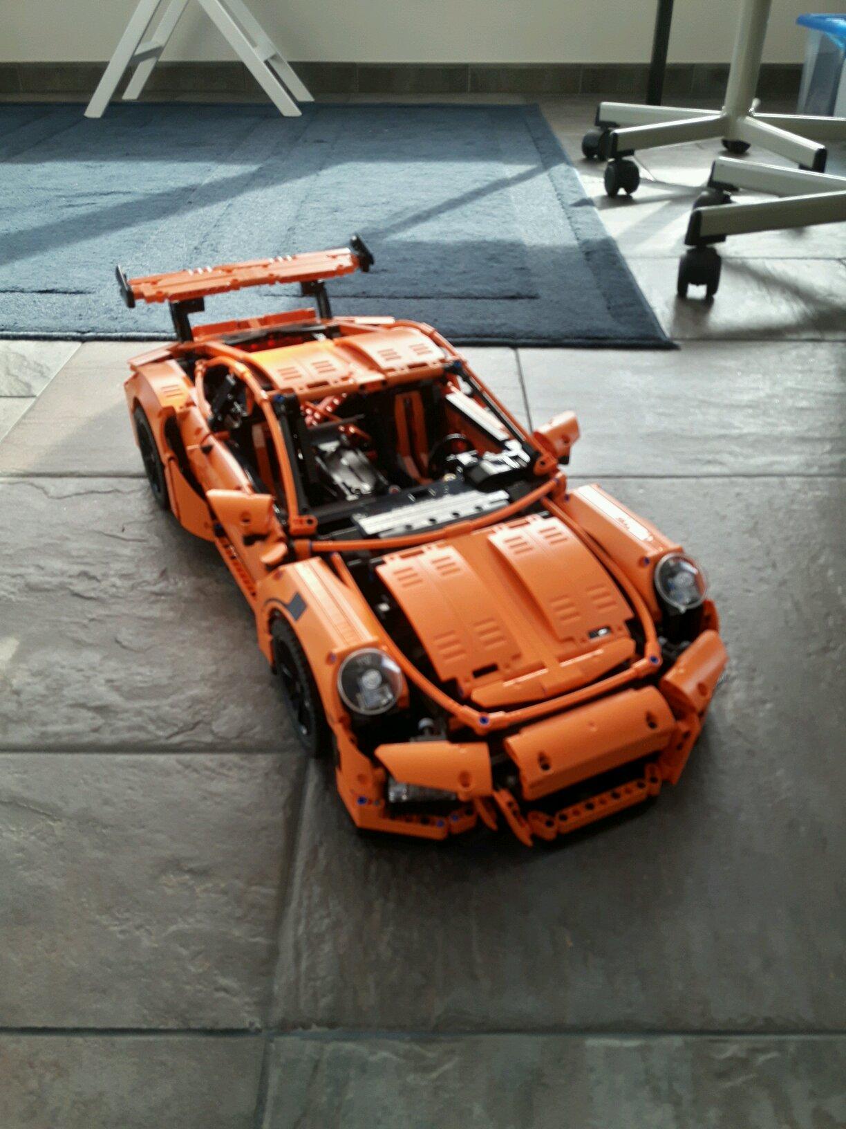 my dream car lego technic porsche 911 gt3 rs. Black Bedroom Furniture Sets. Home Design Ideas