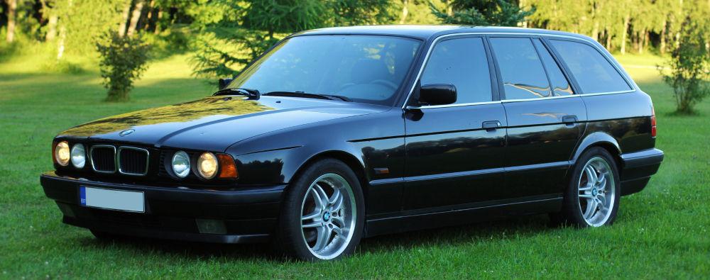 1996 Bmw E34 520i Touring Manual
