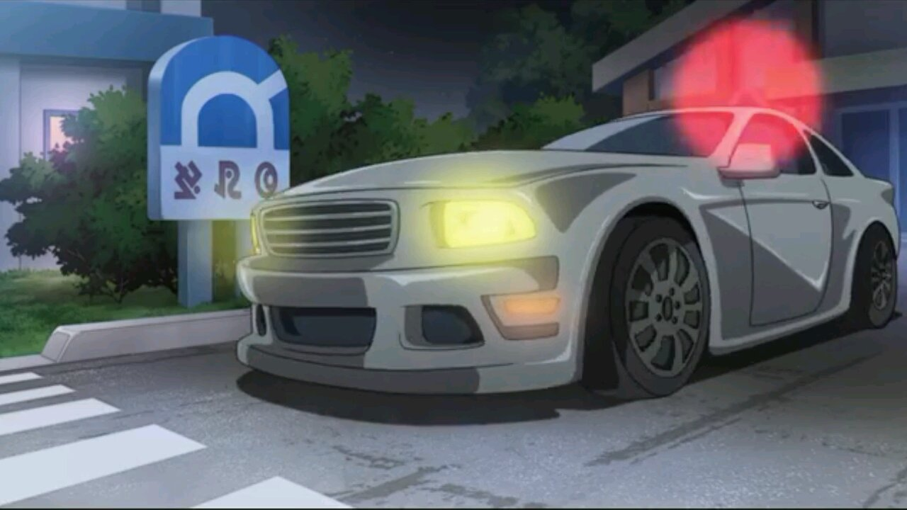 Ford Mustang Anime