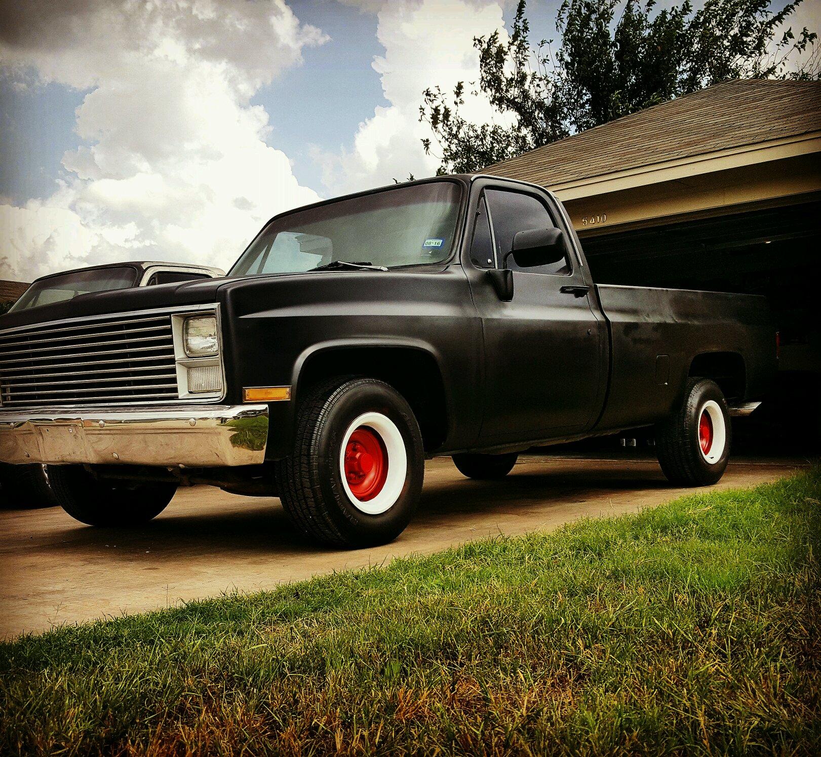 My 83 lwb shop truck project